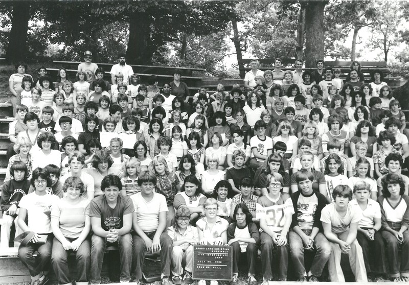 Intermediate IV, July 25-31, 1982 Pat Hall, Dean