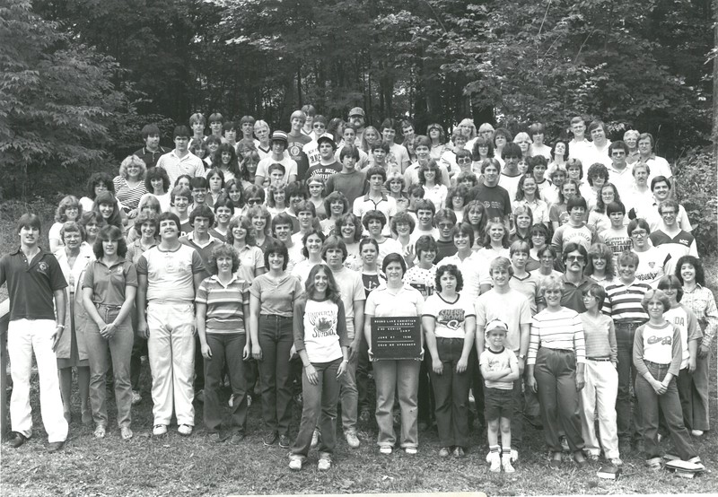 Senior II, June 27-July 3, 1982  Deryll Sprunger, Dean