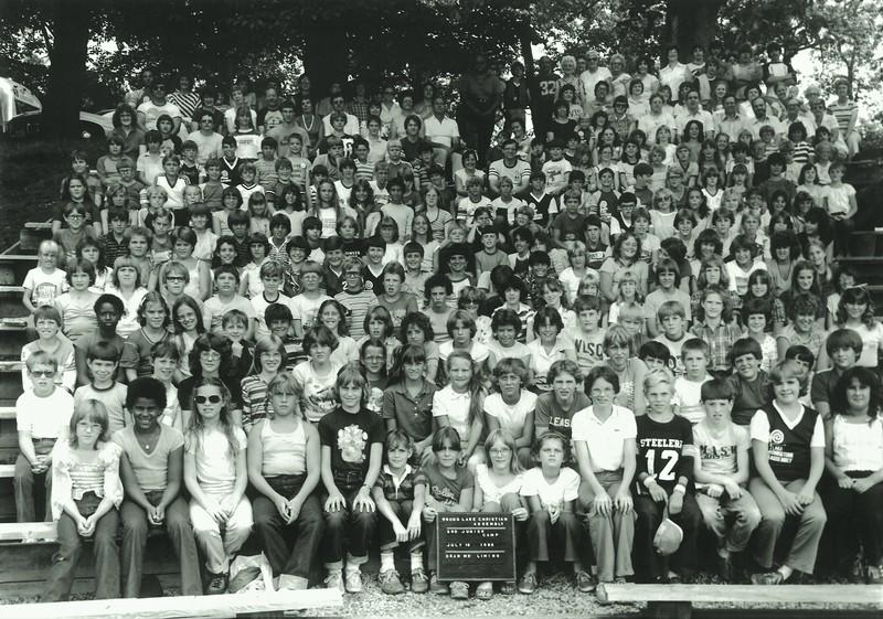 Junior III, July 18-24, 1982 Steve Liming, Dean