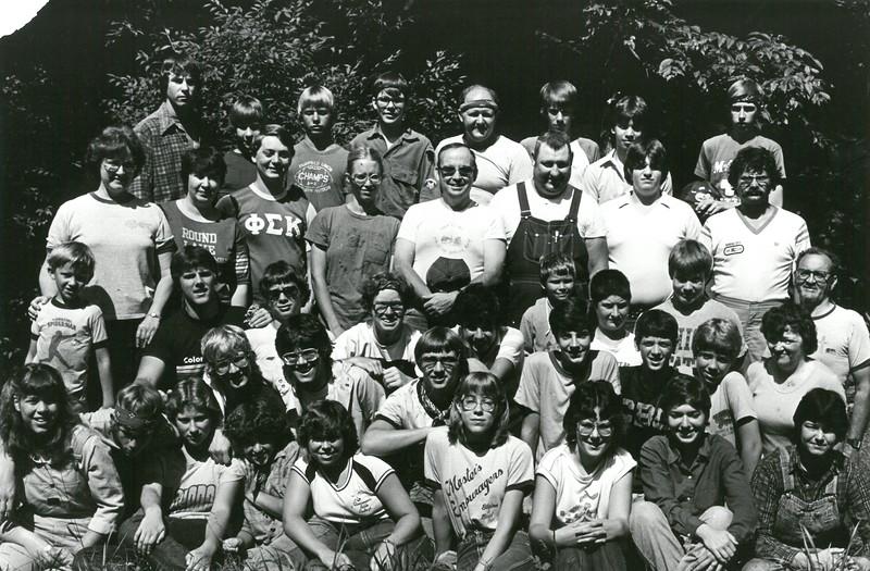 Wilderness I, July 11-17, 1982 Dan Gault, Dean