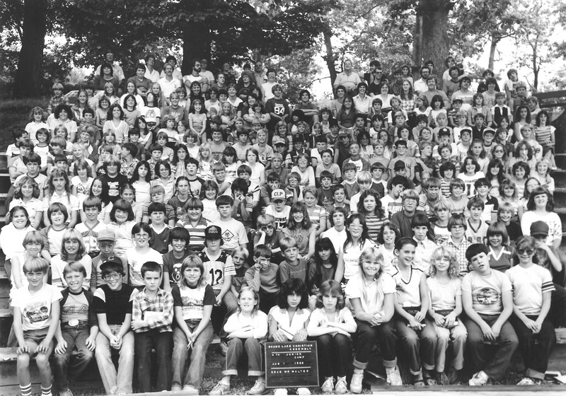 Junior IV, August 1-7, 1982 Duane Walter, Dean