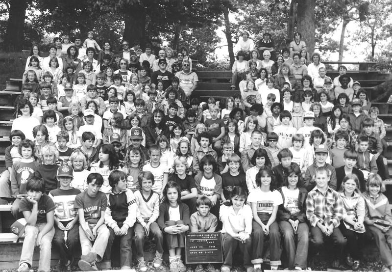 Junior I, June 20-26, 1982 Gene Dietz, Dean