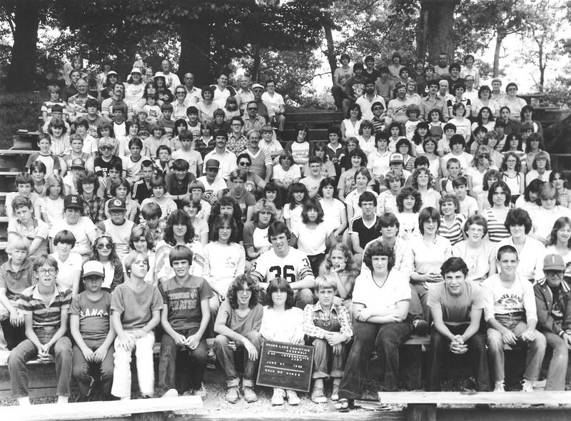 2nd Intermediate Camp, June 27, 1982 Mr Hanze, Dean