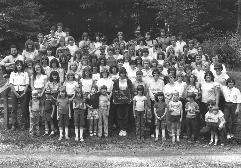 Senior III, July 18-24, 1982 Paul Mullikin, Dean