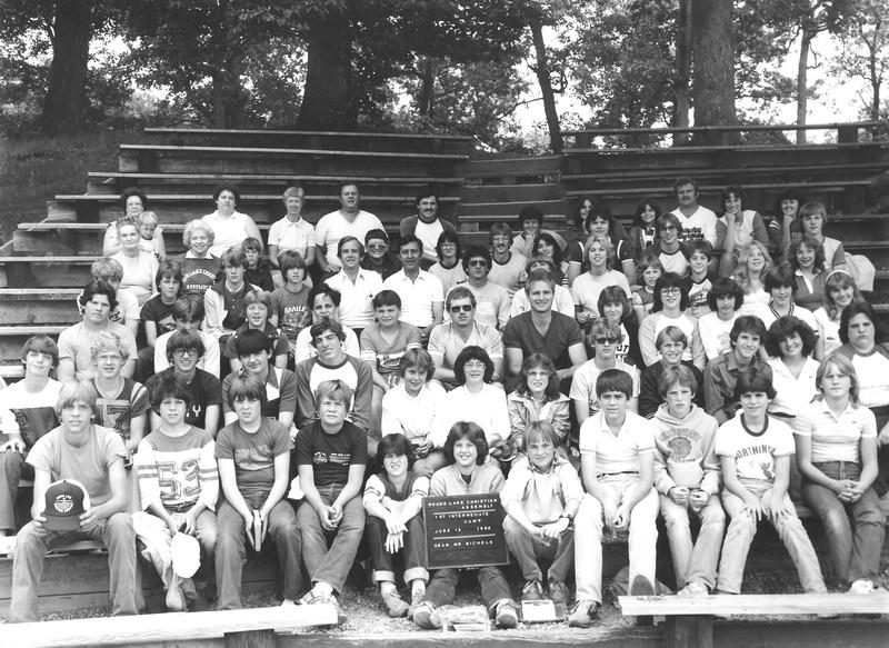 Intermediate I, June 13-19, 1982   Mr  Nichols, Dean
