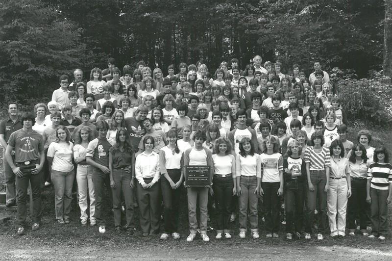 Senior IV, August 8-14, 1982 Floyd Bosher, Dean