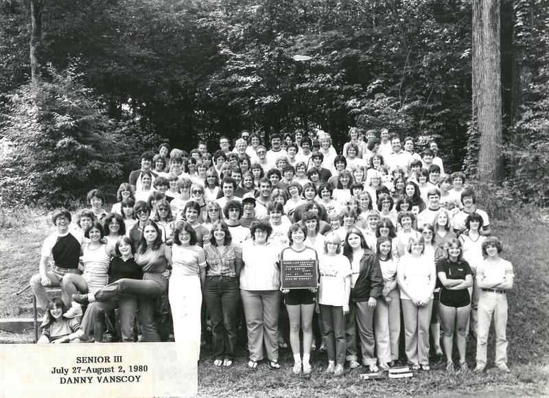 3rd Senior Week, July 27-August 2, 1980 Danny Vanscoy, Dean