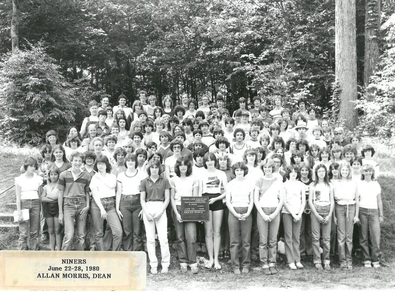 Niners, June 22-28, 1980 Allan Morris, Dean