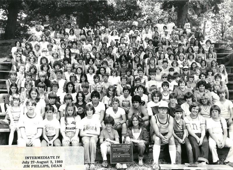 4th Intermediate Week, July 27-August 2, 1980 Jim Phillips, Dean