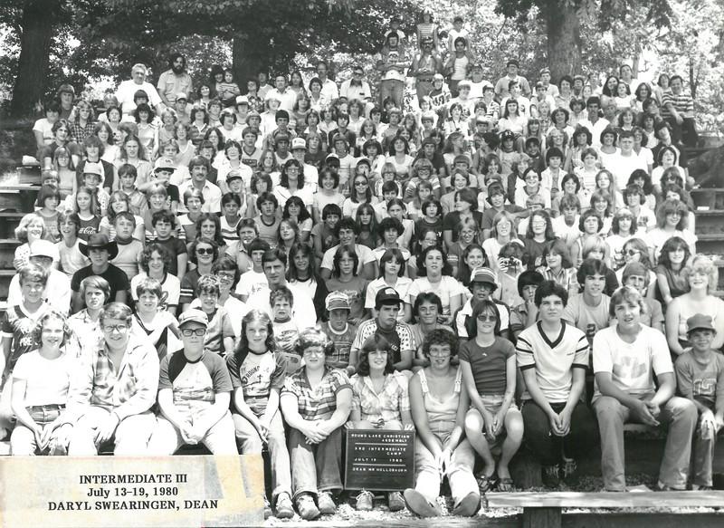 3rd Intermediate Week, July 13-19, 1980 Daryl Swearingen, Dean