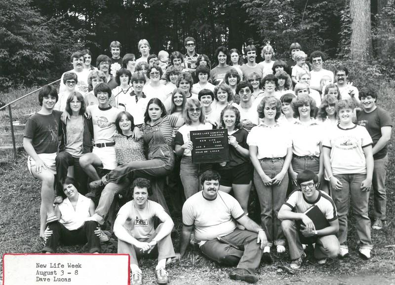 New Life Week, August 3-8, 1980, Dave Lucas, Dean