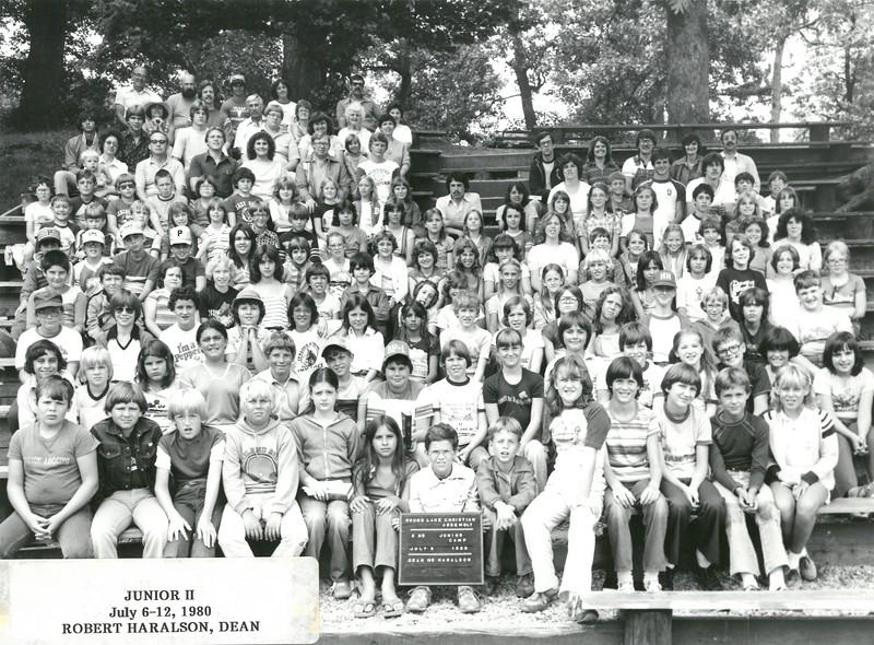 2nd Junior Week, July 6-12, 1980 Robert Haralson, Dean