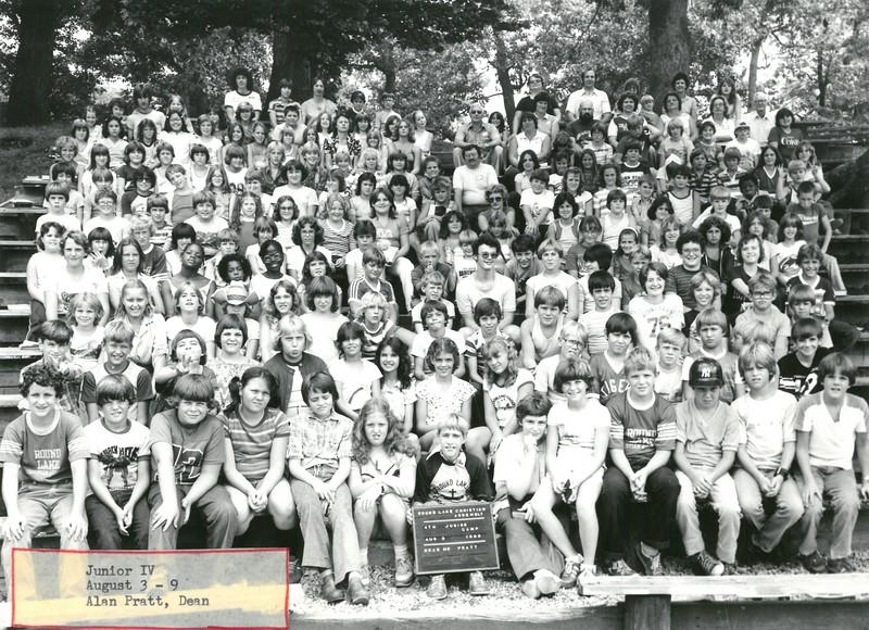 4th Junior Week, August 3-9, 1980 Alan Pratt, Dean