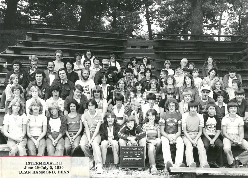 2nd Intermediate Week, June 29-July 5, 1980 Dean Hammond, Dean