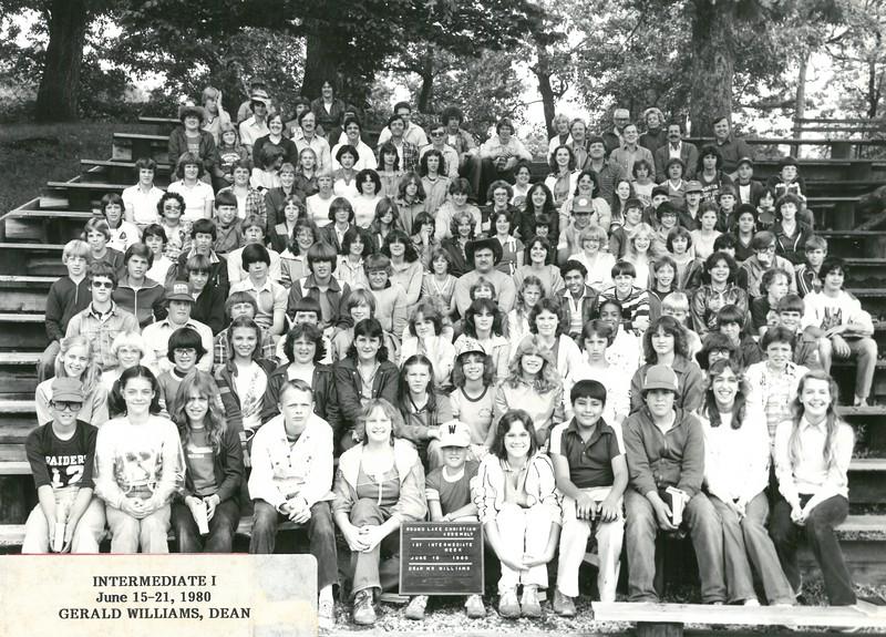 1st Intermediate Week, June 15-21, 1980 Gerald Williams, Dean