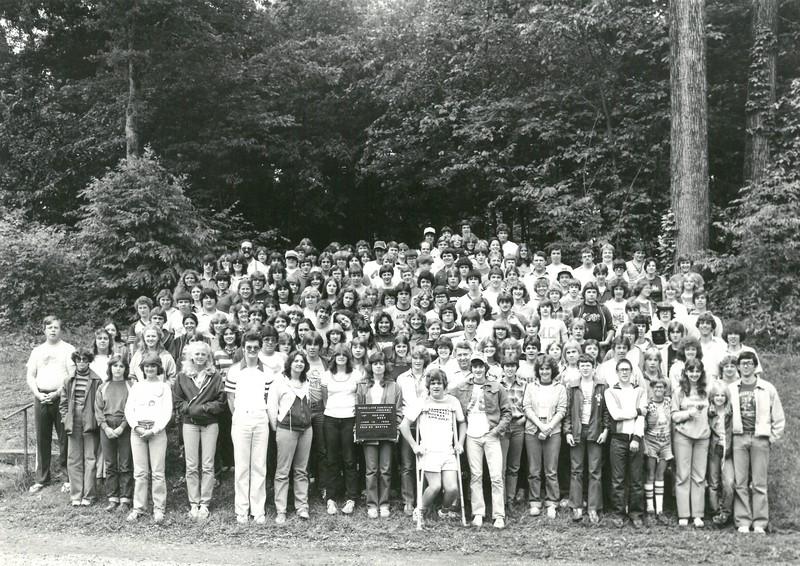 1st Senior Week, June 13-20, 1980 Brian Borton, Dean