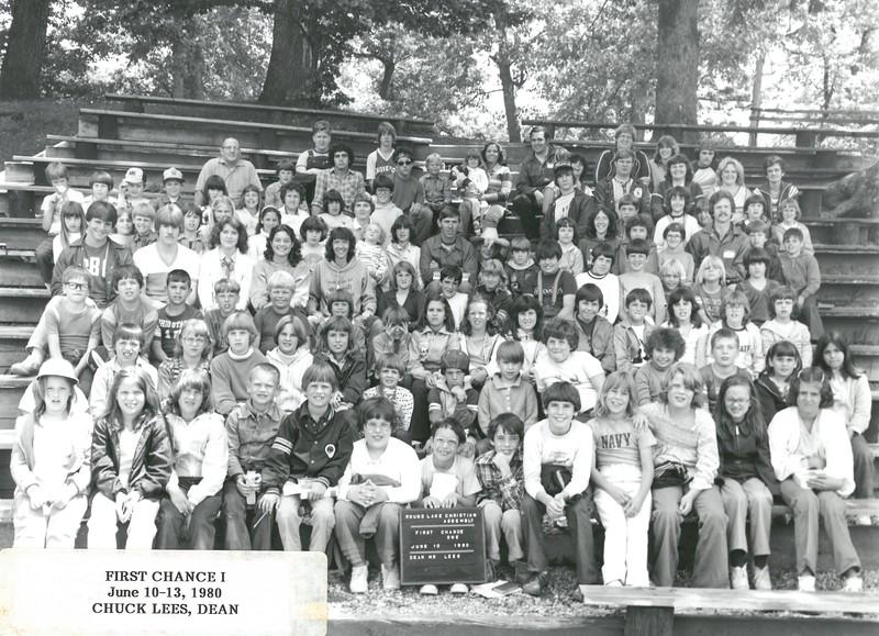 First Chance I, June 10-13, 1980 Chuck Lees, Dean