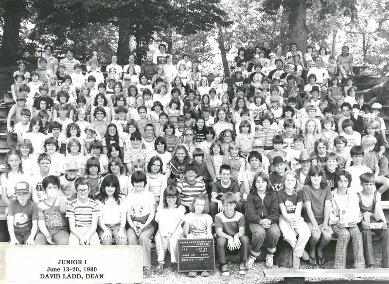 1st Junior Week, June 13-20, 1980 David Ladd, Dean