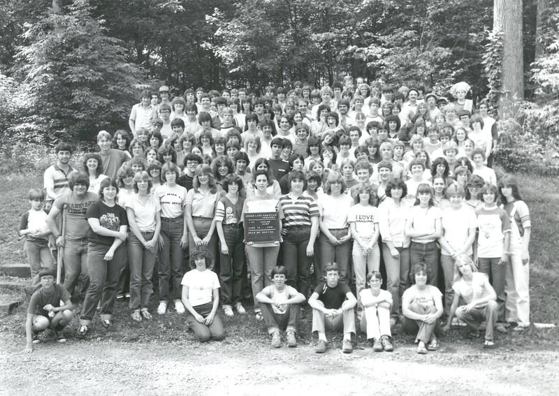 1st Senior Week, June 12-19, 1981 Brian Borton, Dean