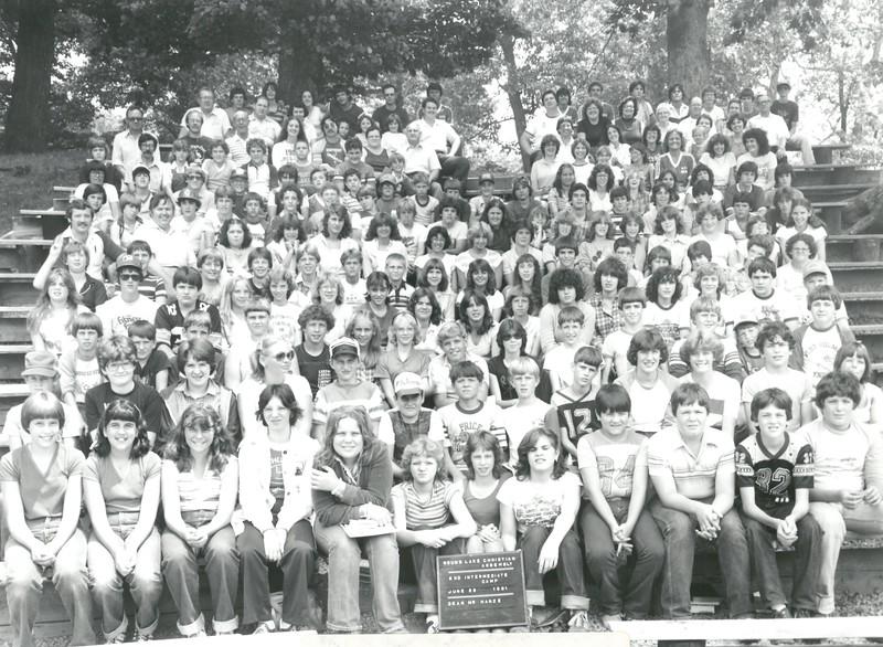2nd Intermediate Week, June 28-July 4, 1981 Tim Hanze, Dean