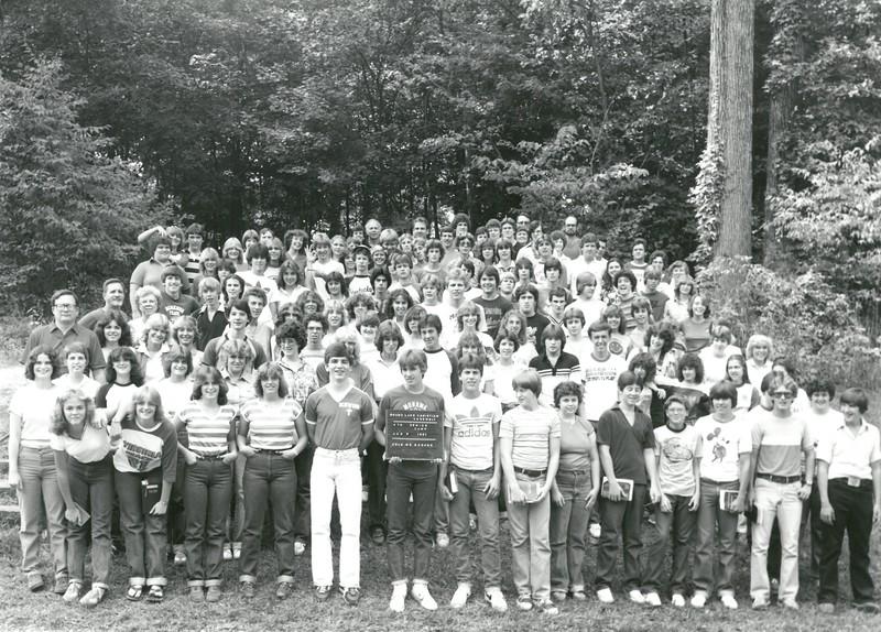 4th Senior Week, August 9-15, 1981 Floyd Bosher, Dean