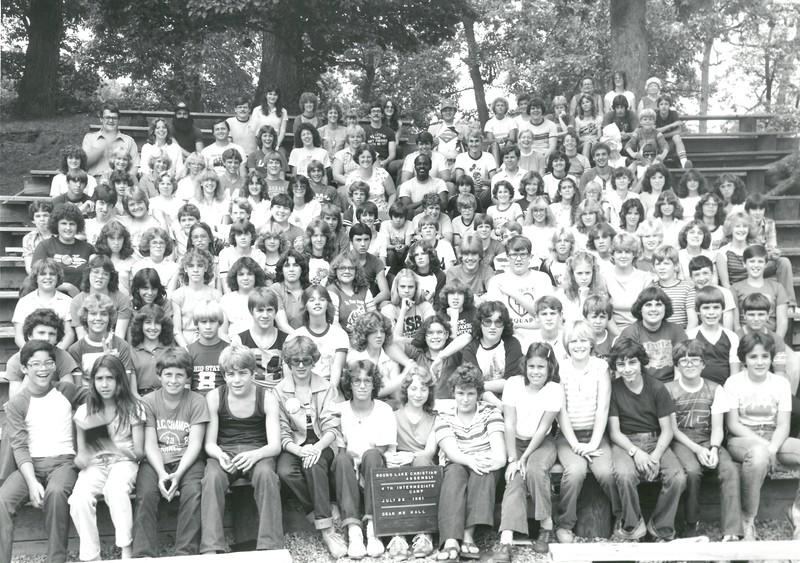 4th Intermediate Week, July 26-August 1, 1981 Pat Hall, Dean