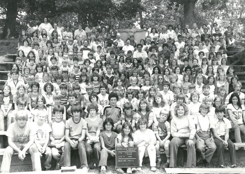 4th Junior Week, August 2-8, 1981 Alan Pratt, Dean