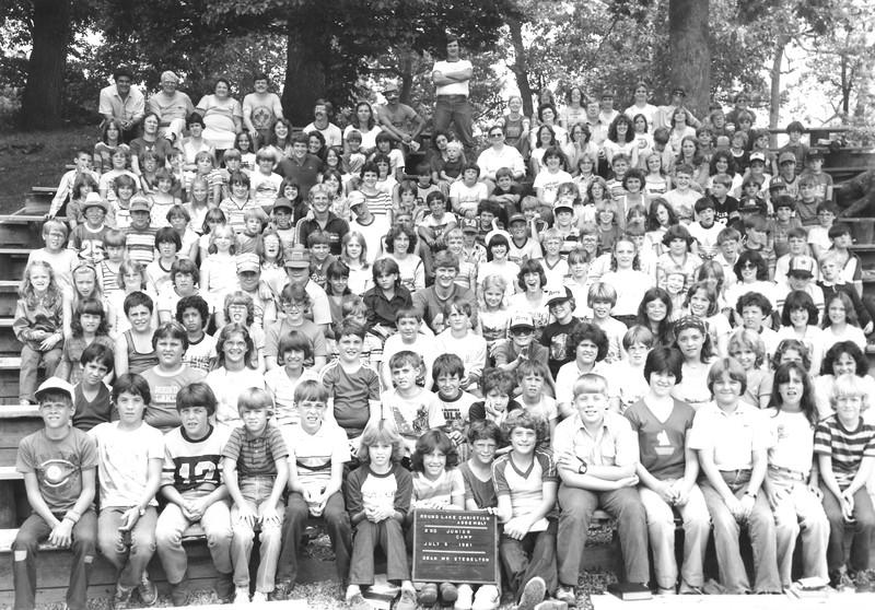 2nd Junior, July 5-11, 1981 Paul Stebelton, Dean