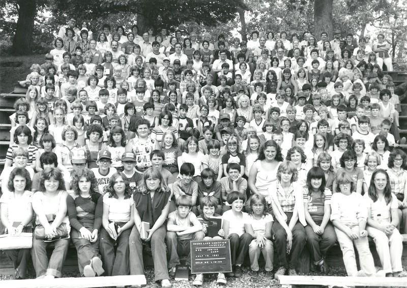 3rd Junior Week, July 19-25, 1981 Setve Liming, Dean