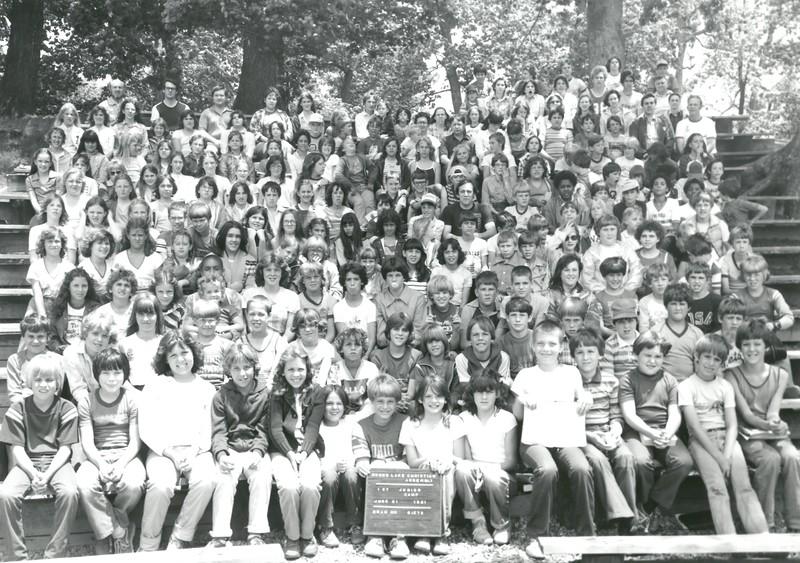 1st Junior Week, June 21-27, 1981 Gene Dietz, Dean