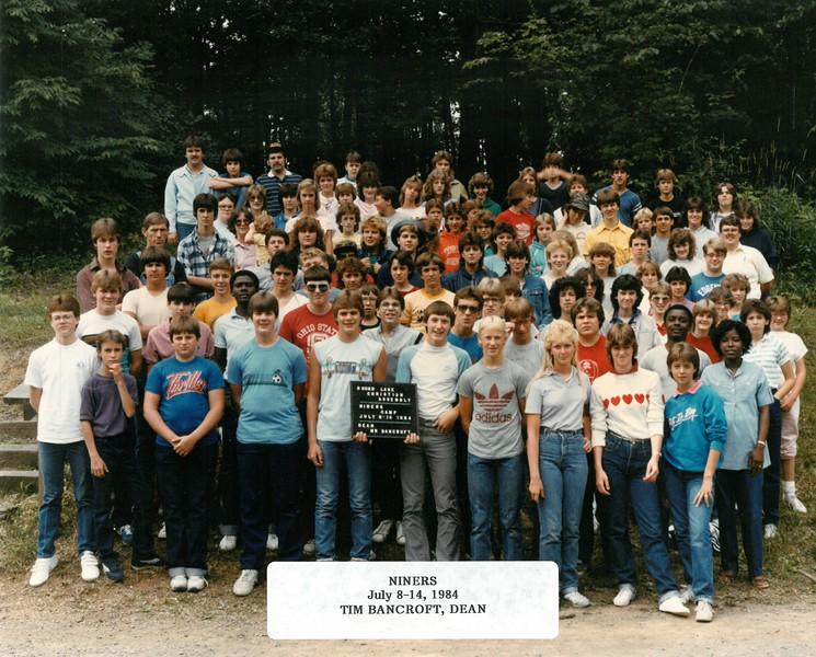 Niners, July 8-14, 1984 Tim Bancroft, Dean