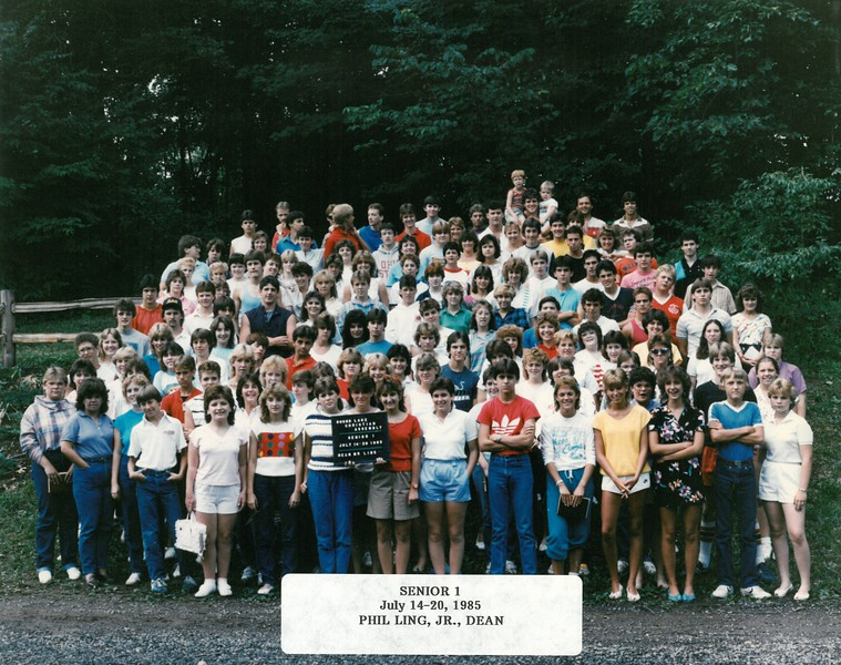 Senior 1, July 14-20, 1985  Phil Ling, Jr, Dean