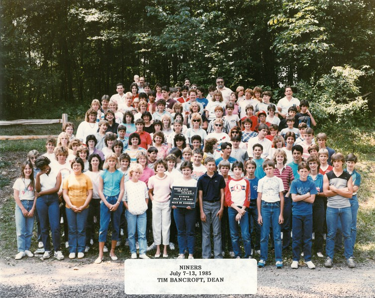 Niners, July 7-13, 1985  Tim Bancroft, Dean