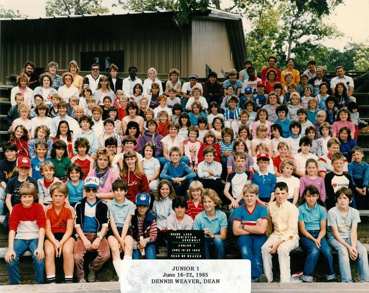 Junior 1, June 16-22, 1985  Dennis Weaver, Dean