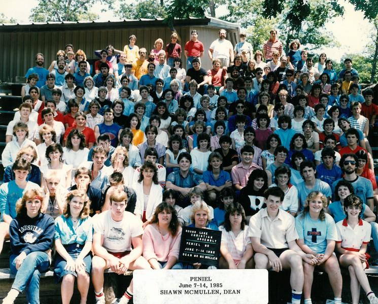 Peniel, June 7-14, 1985  Shawn McMullen, Dean