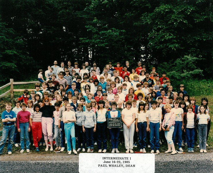 Intermediate 1, June 16-22, 1985  Paul Whaley, Dean