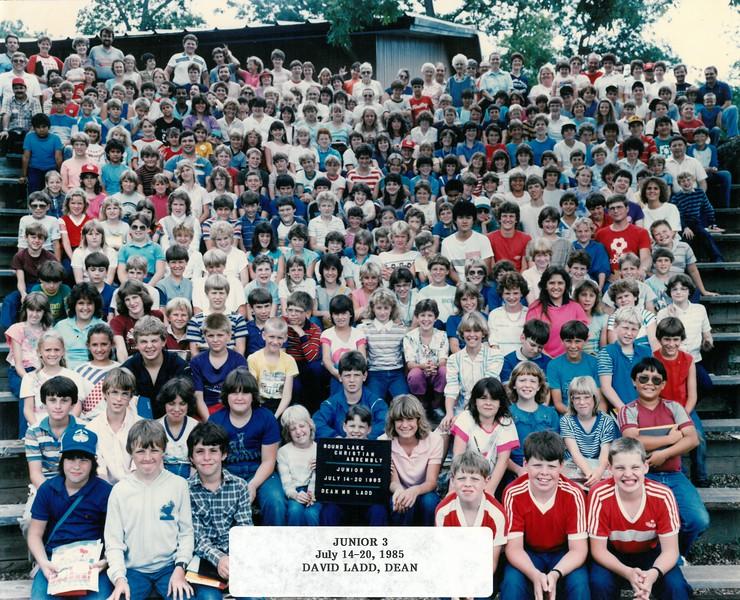 Junior 3, July 14-20, 1985  David Ladd, Dean