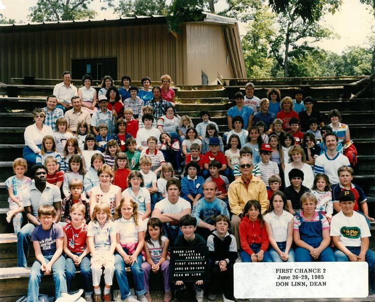 First Chance 2, June 26-29, 1985  Don Linn, Dean