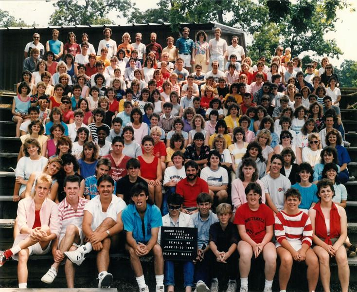 Peniel 86, Jule 13-20, 1986 Mr Wuske, Dean