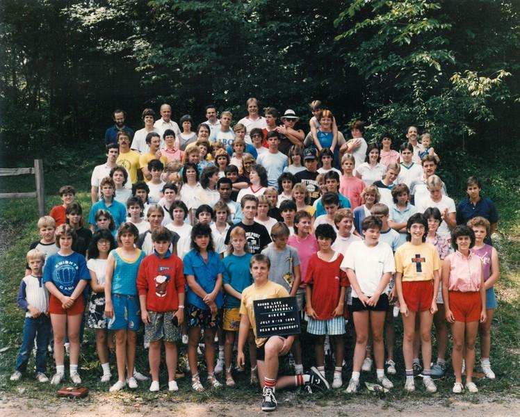 Niners, July 6-12, 1986 Mr Bancroft, Dean