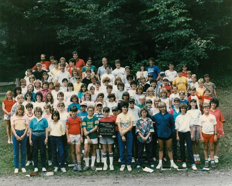 Intermediate 5, August 17-23, 1986 Mr Derry, Dean