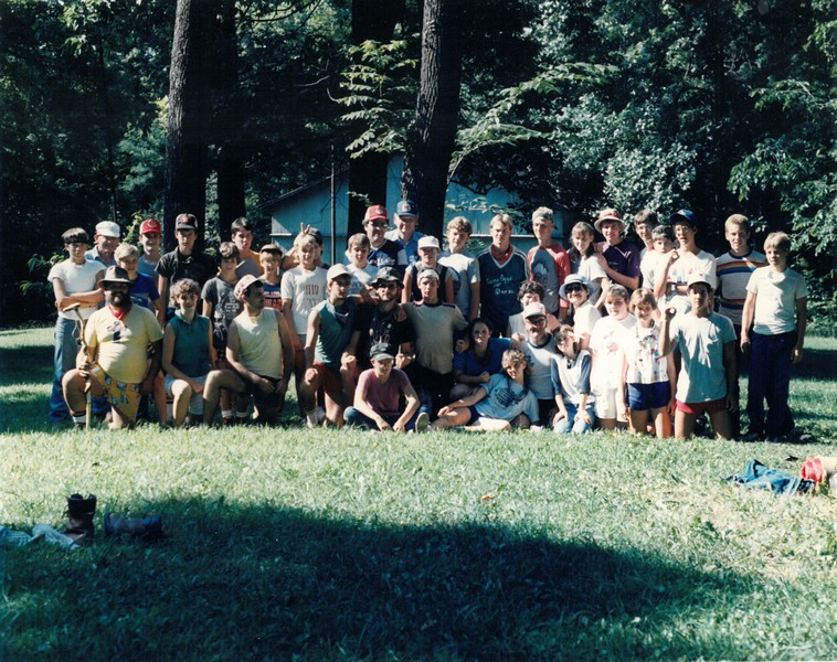 Ohio Backpack, July 20-26, 1986, Dan Gault, Dean
