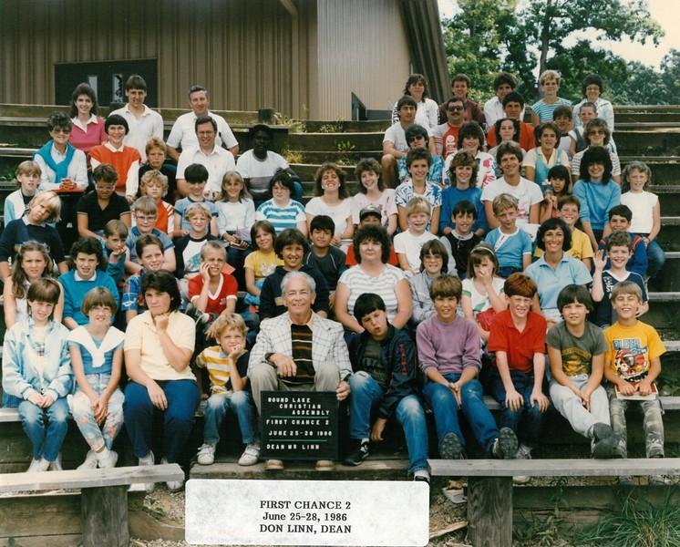 First Chance 2, June 25-28, 1986 Don Linn, Dean