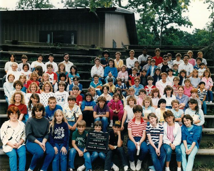 Junior 1, June 29, 1986 Mr Carrick, Dean