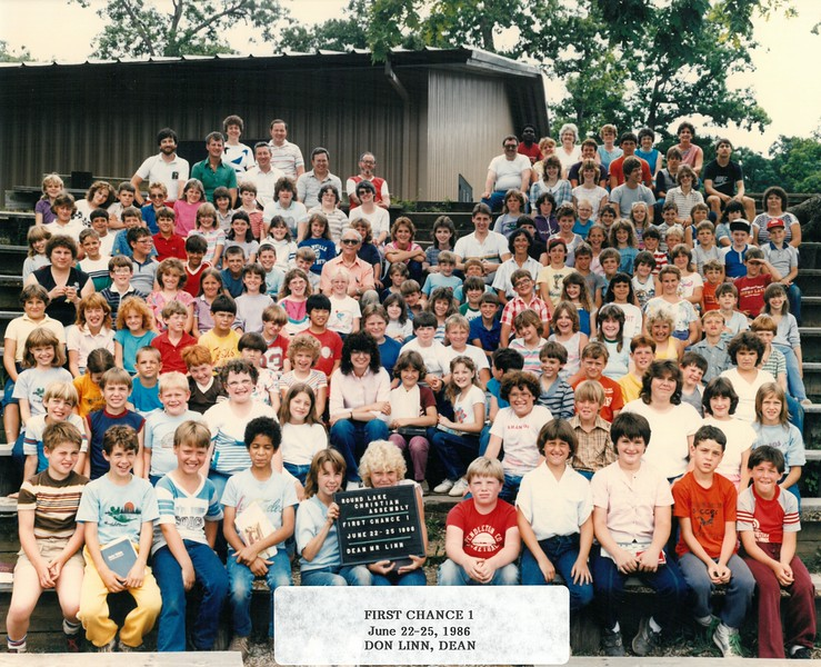 First Chance 1, June 22-25, 1986 Don Linn, Dean