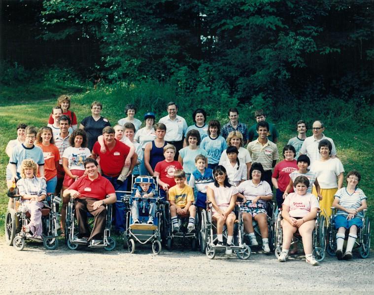 Disabled Camp, July 30-August 1, 1986 Jim Bemiller, Dean