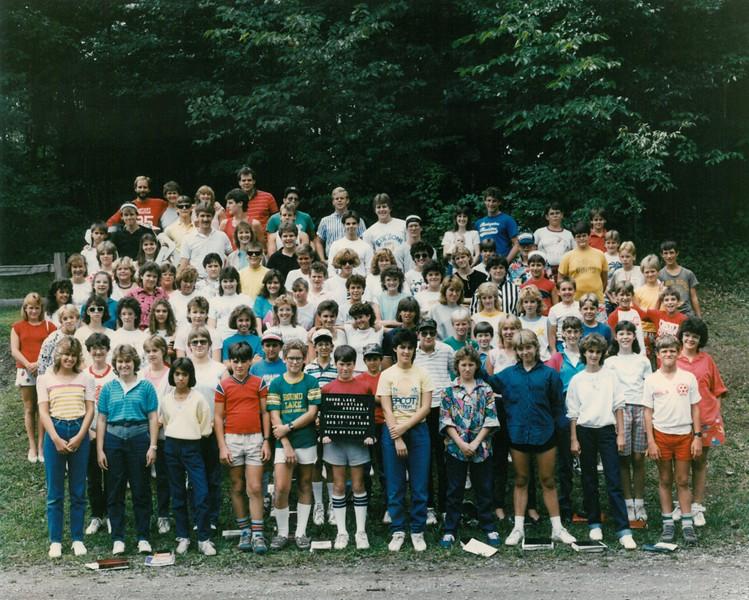 Intermediate 5, Aug 17-23, 1986 Mr Derry, Dean