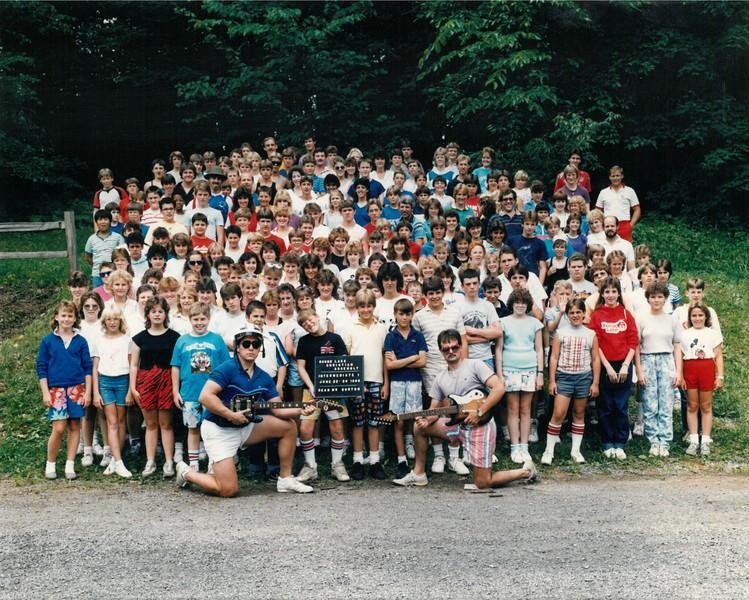 Intermediate 1, June 22-28, 1986 Mr Borton, Dean