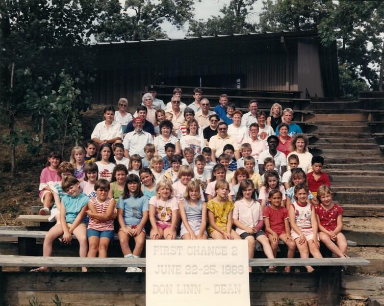 First Chance 2, June 22-25, 1988 Don Linn, Dean