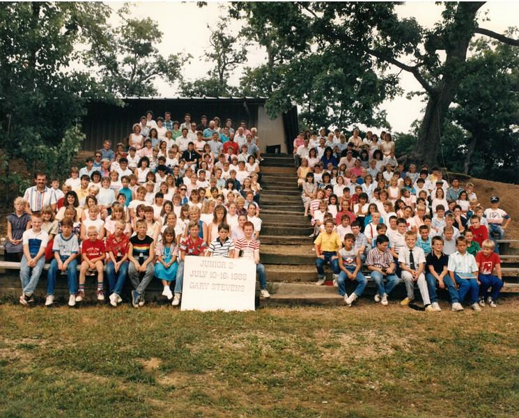 Junior 2, July 10-16, 1988 Gary Stevens, Dean